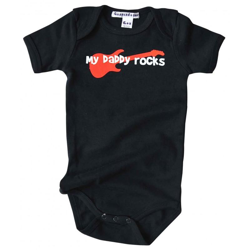 Body bébé Rock n Roll