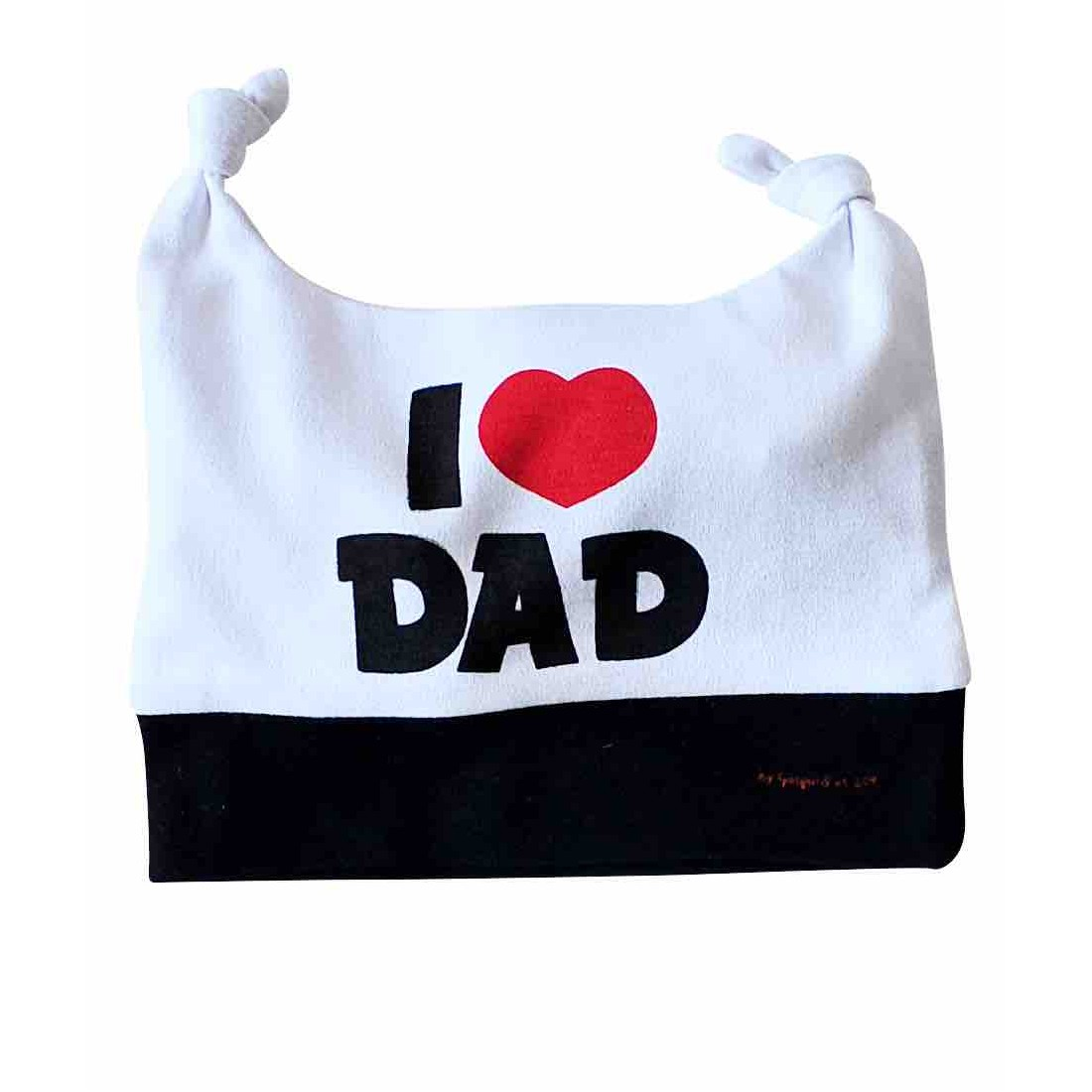 Bonnet bébé I LOVE DAD
