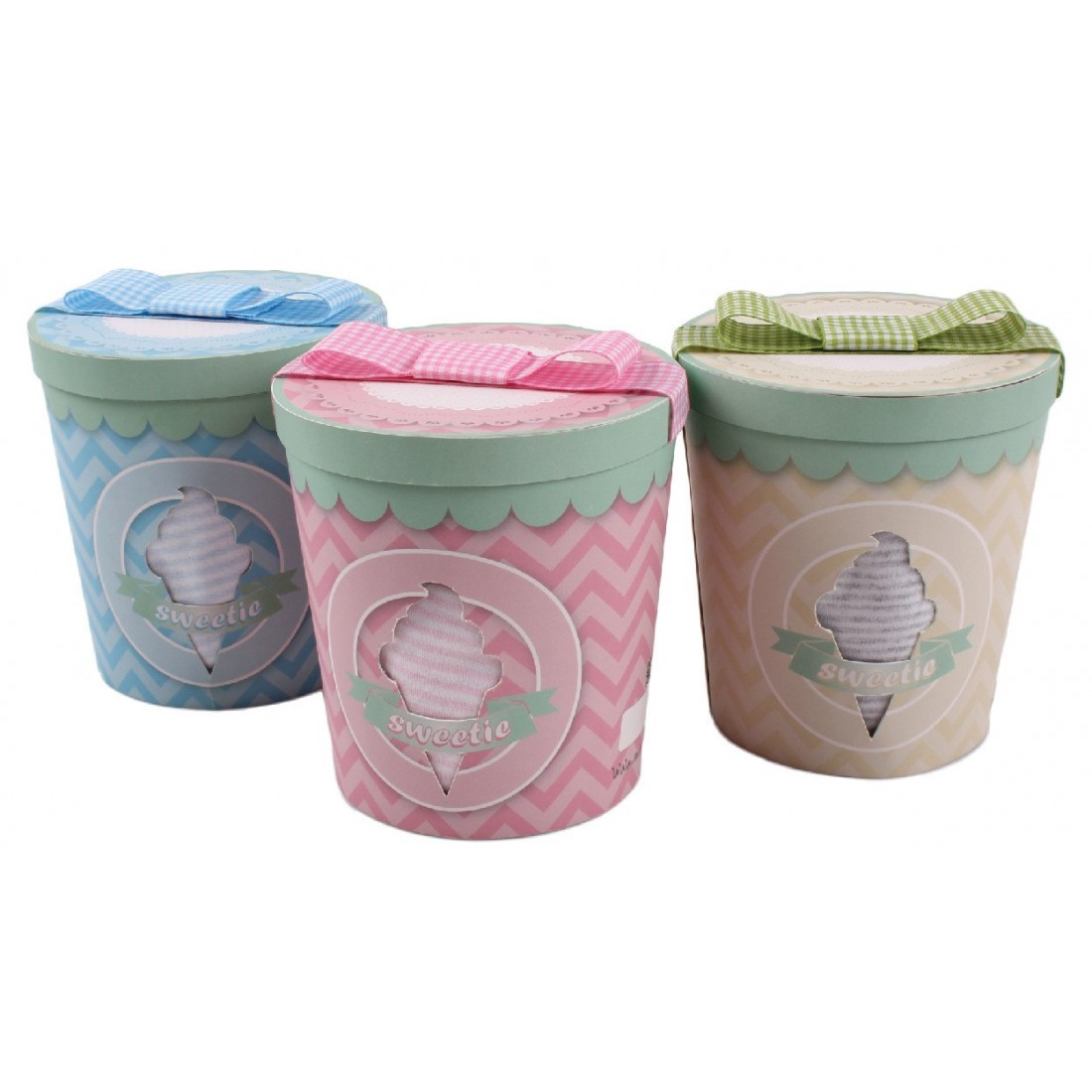 Coffret pot de glace mixte