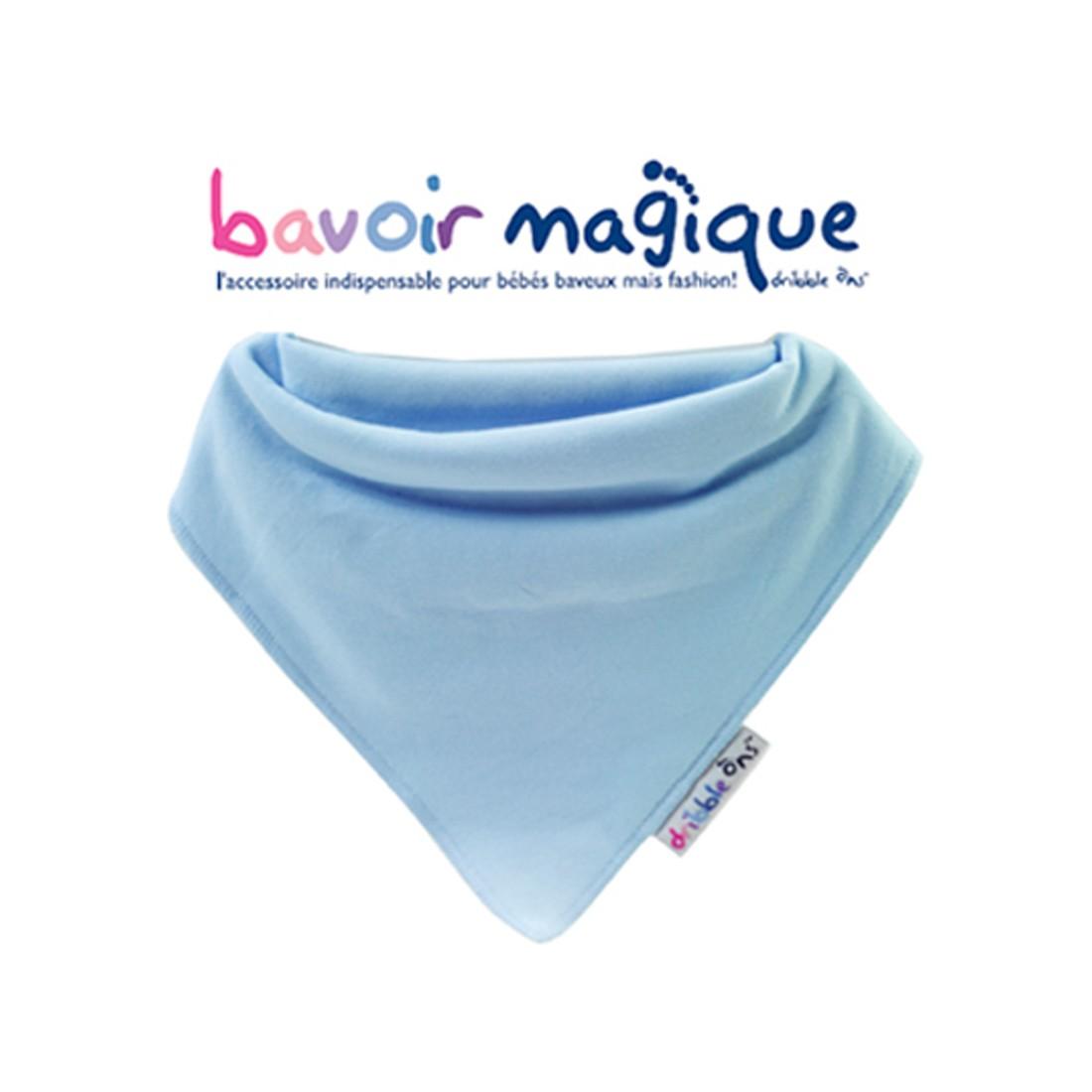 Bavoir - Bandana pour bébés baveux - bavoir magique - Ciel