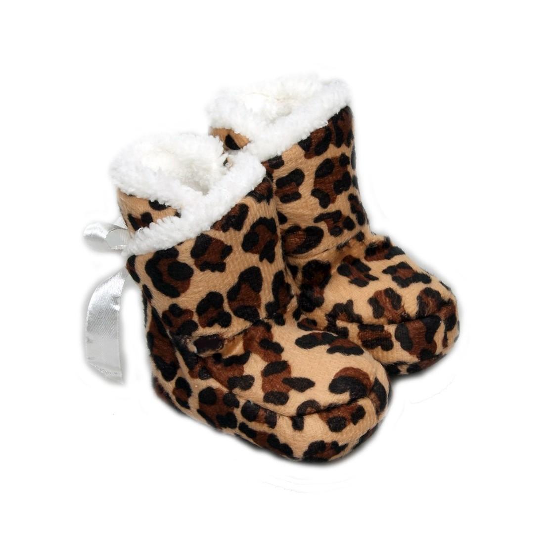 Chaussons bébé rigolo Tigre