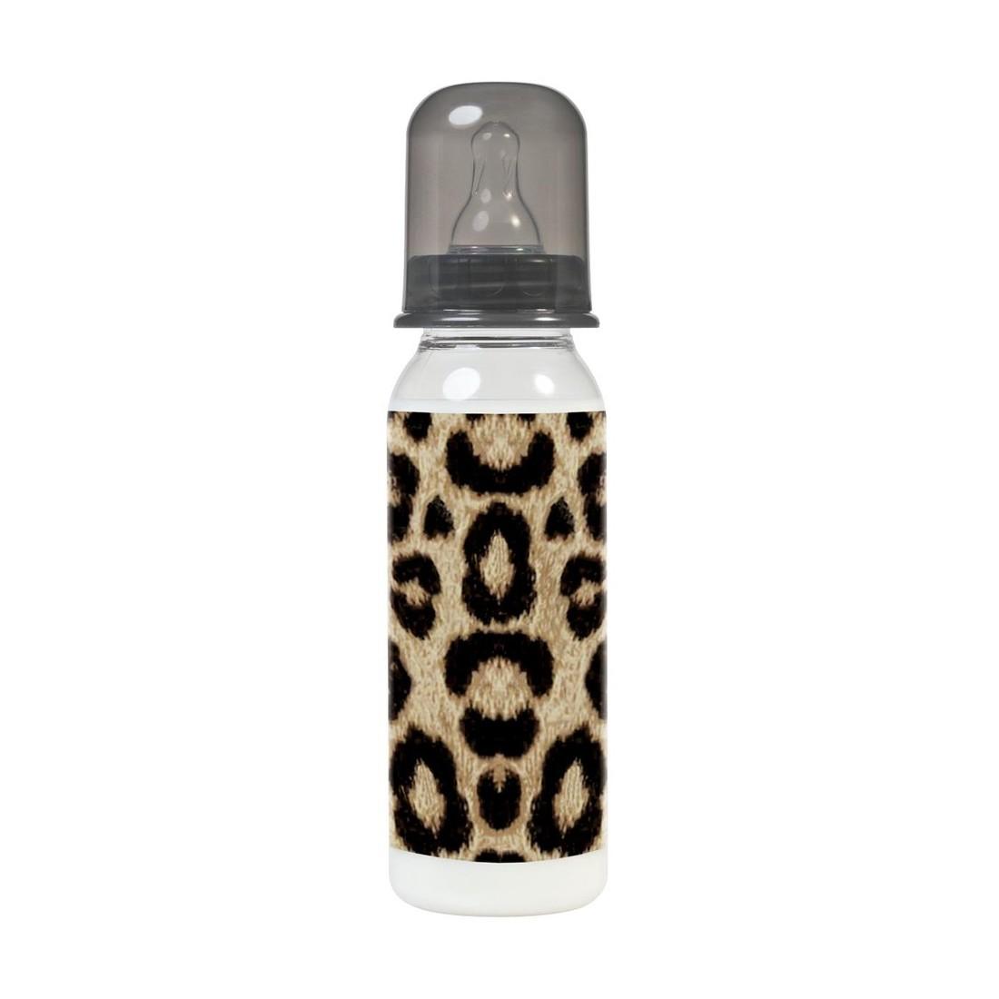 Biberon léopard sans bisphénol A