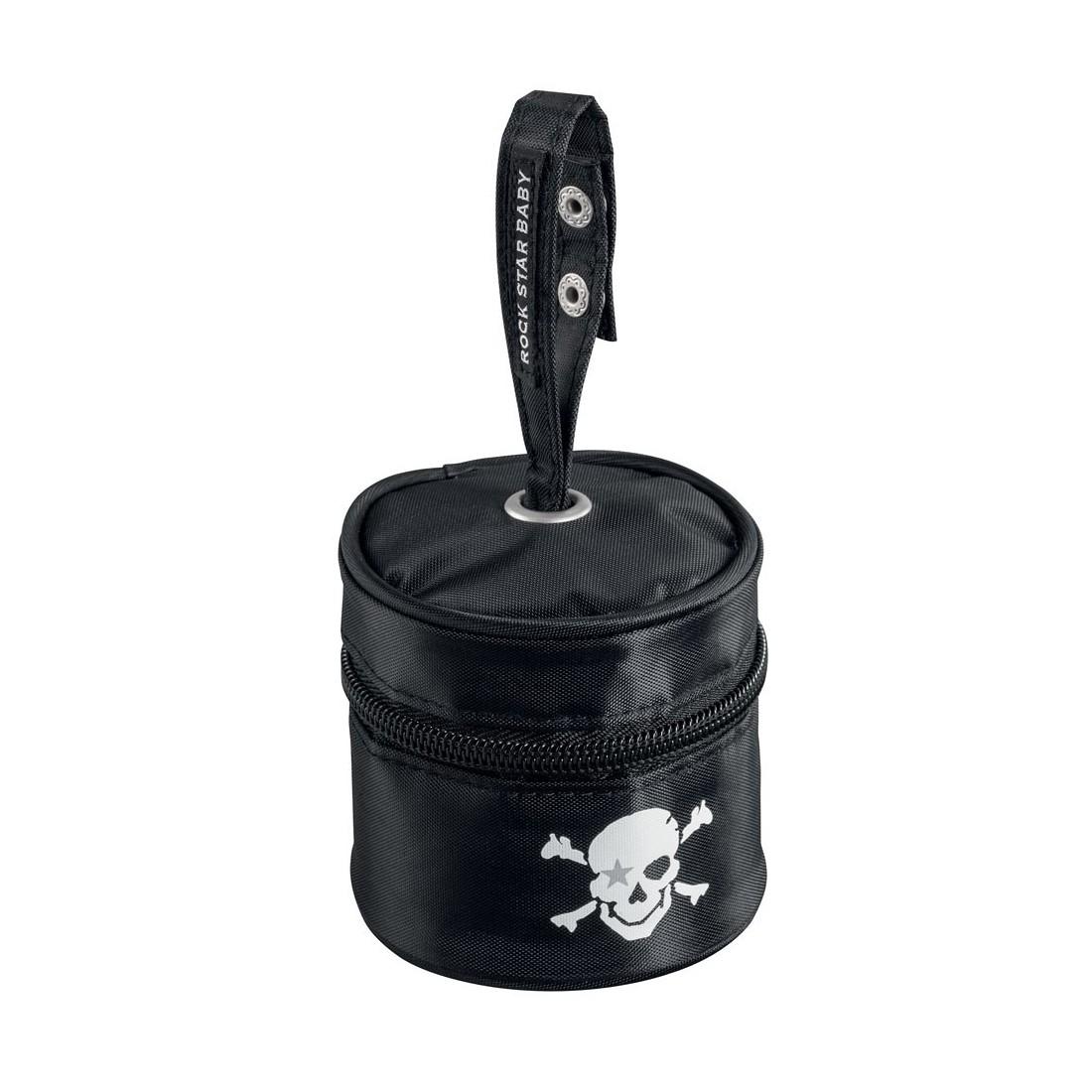 Boite range tétine pirate noir