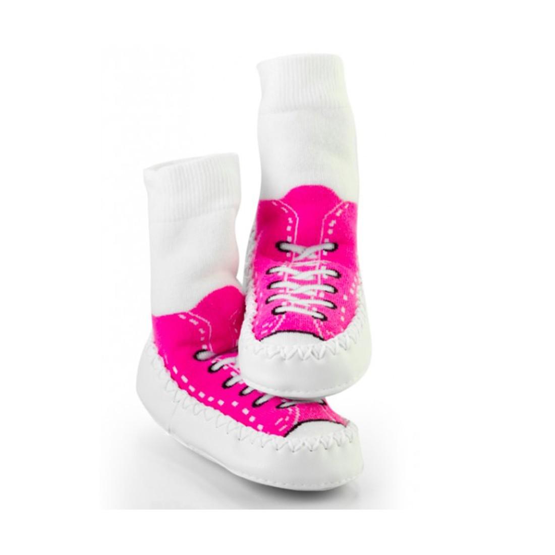 Chaussons-chausssettes pour bébé Mocc Ons