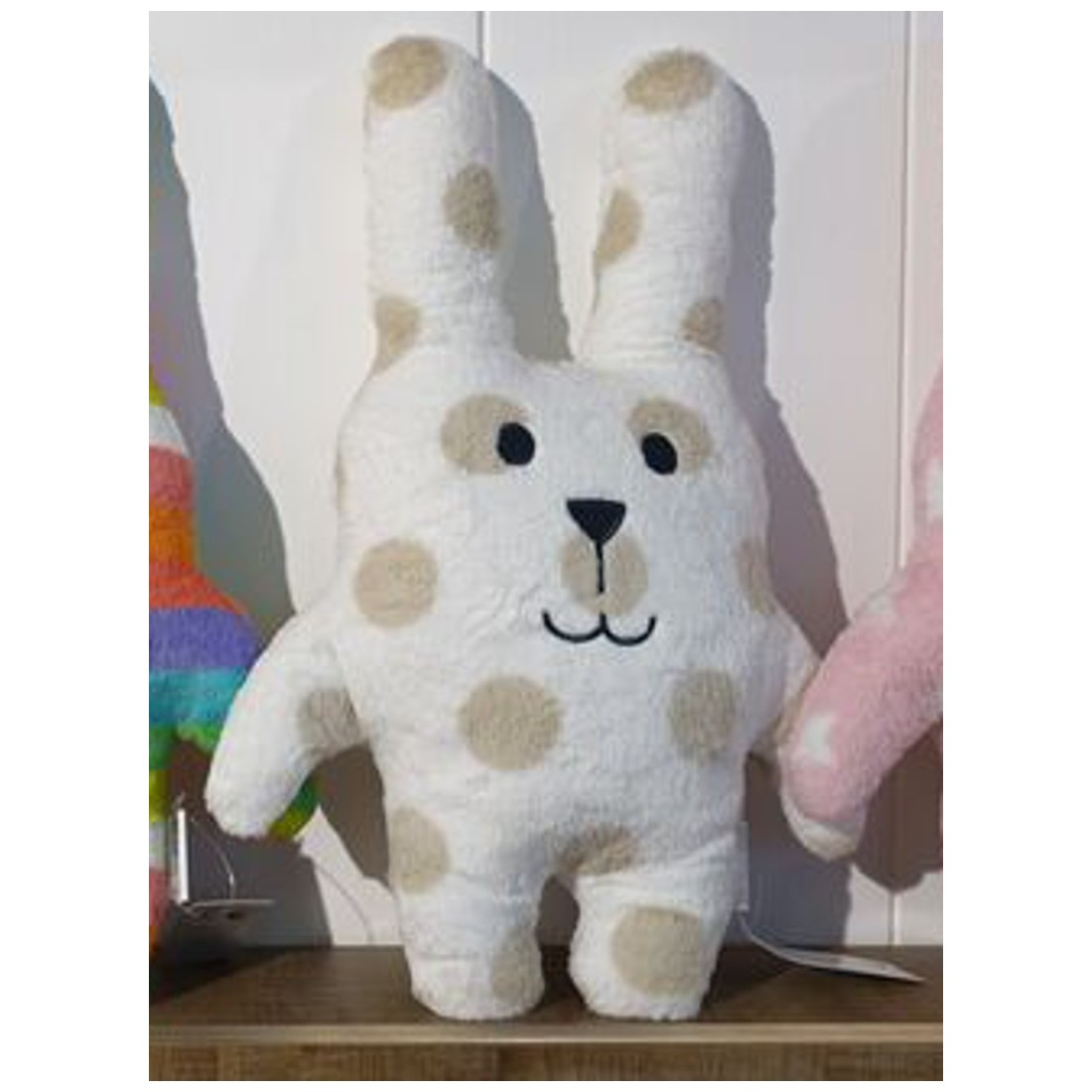 Coussin peluche lapin - Collection Sherbet