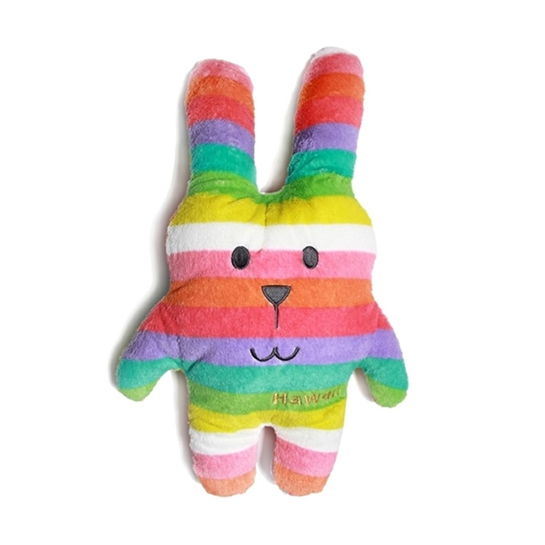 Peluche coussin lapin - Collection Hawaï