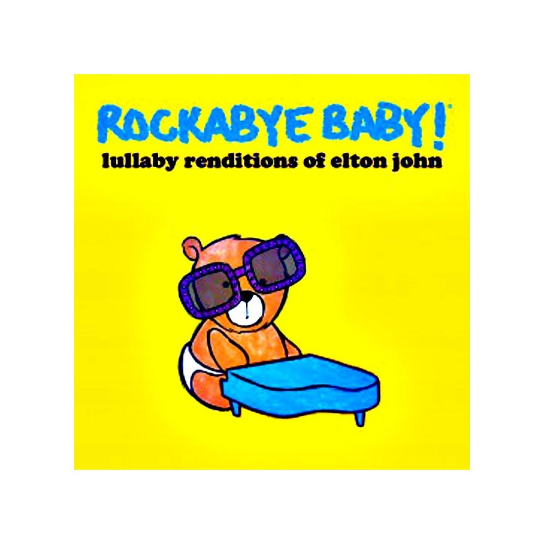 CD Berceuse rock and roll Elton John
