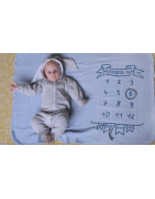Lange d'allaitement - Emmailloter bébé
