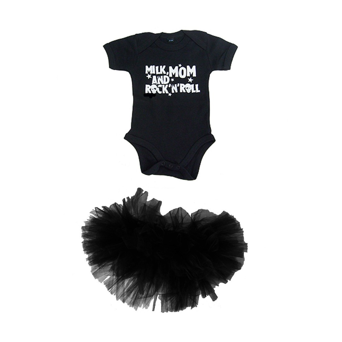 1166921e5b156 vetement bebe fille rock and roll   tutu en tulle et body