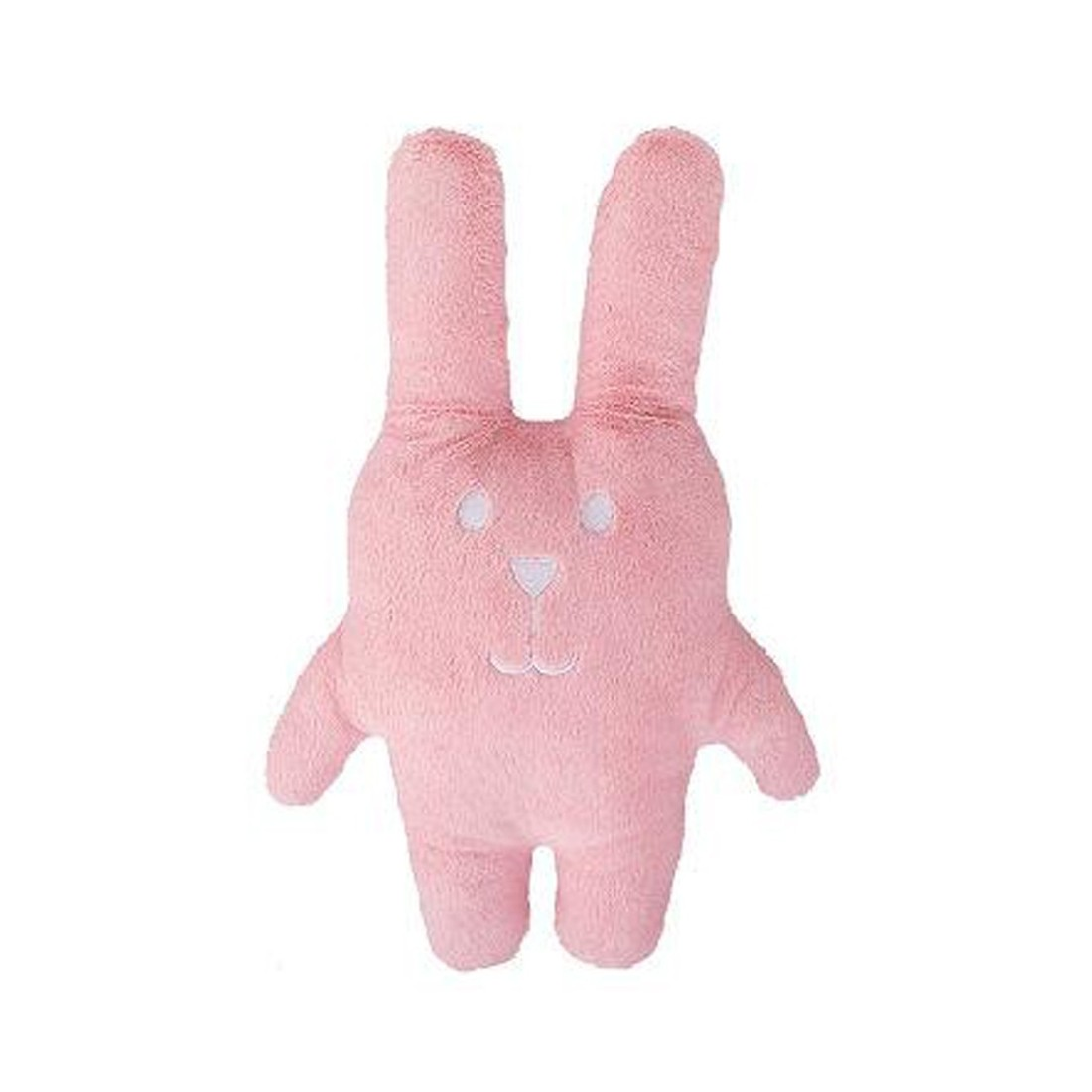 Coussin peluche lapin rose