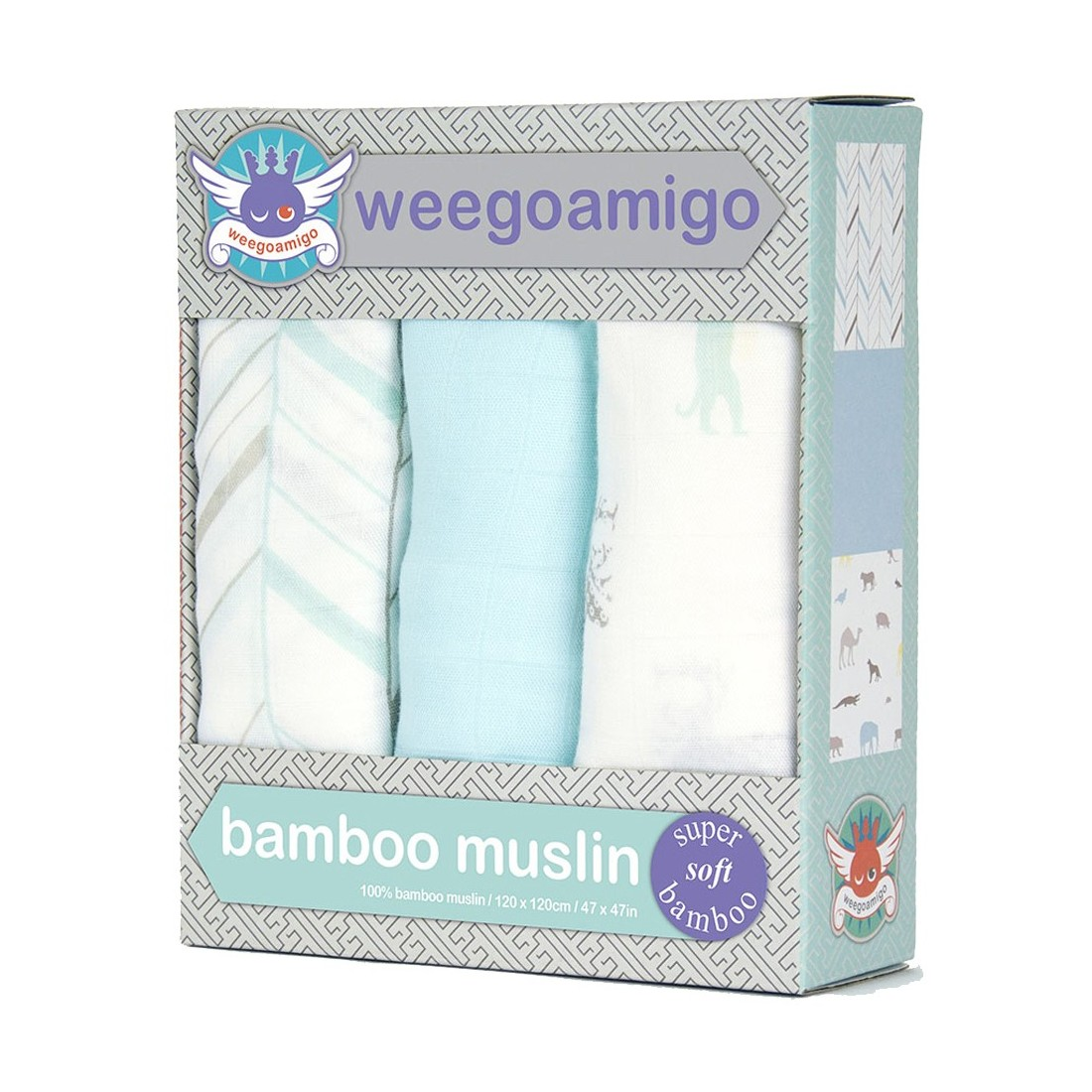 Maxi lange bambou Weegoamigo - Pack 3 - ARK ADVENTURE