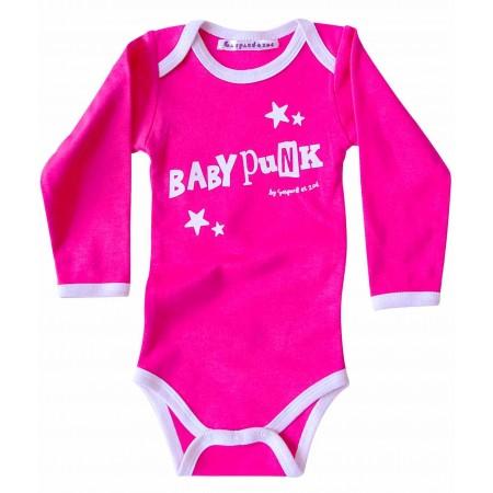 Body bébé humour BABY PUNK