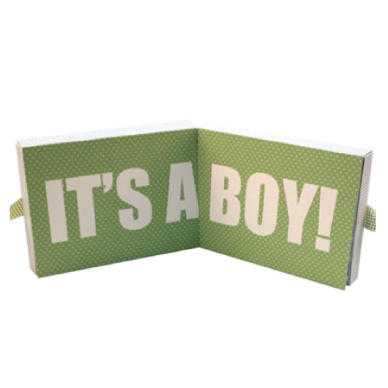Boite cadeau it's a boy bleu