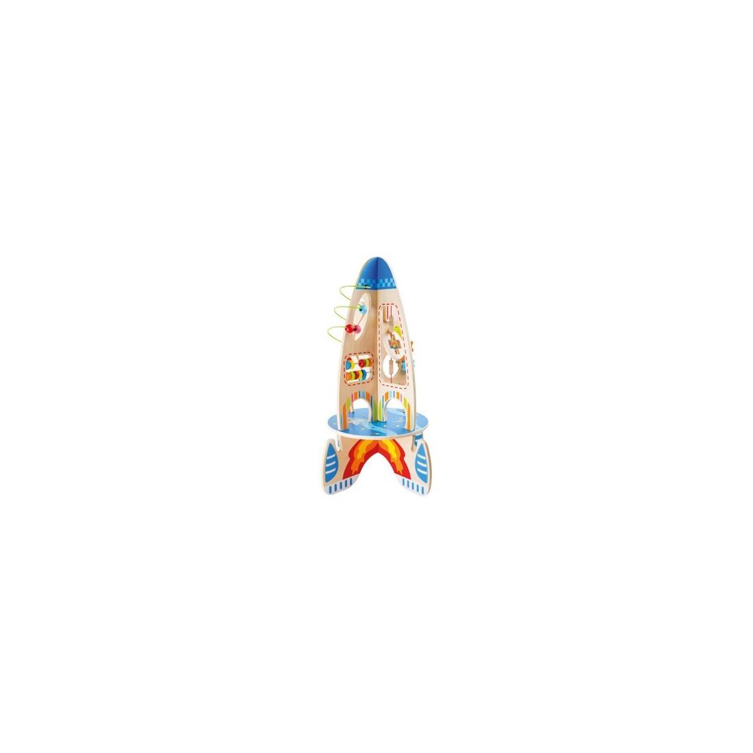 Jouet de motricité fusée