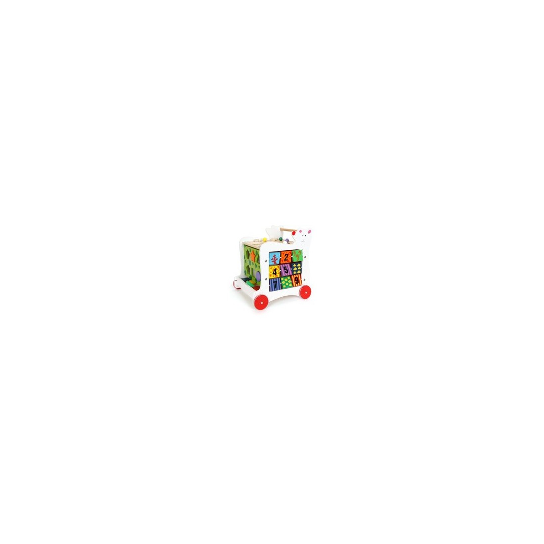 cube d'éveil sur roulettes «Ours»