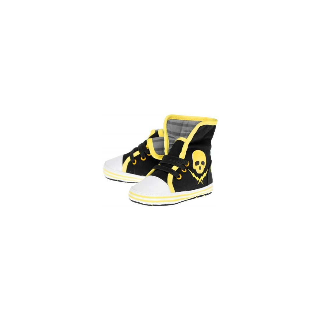"sneakers skull and bolt ""tete de mort"""
