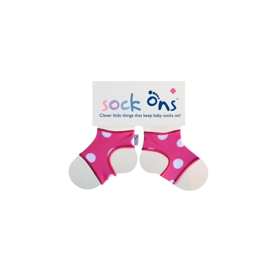 Sock Ons Polka Dot cadeau de naissance original