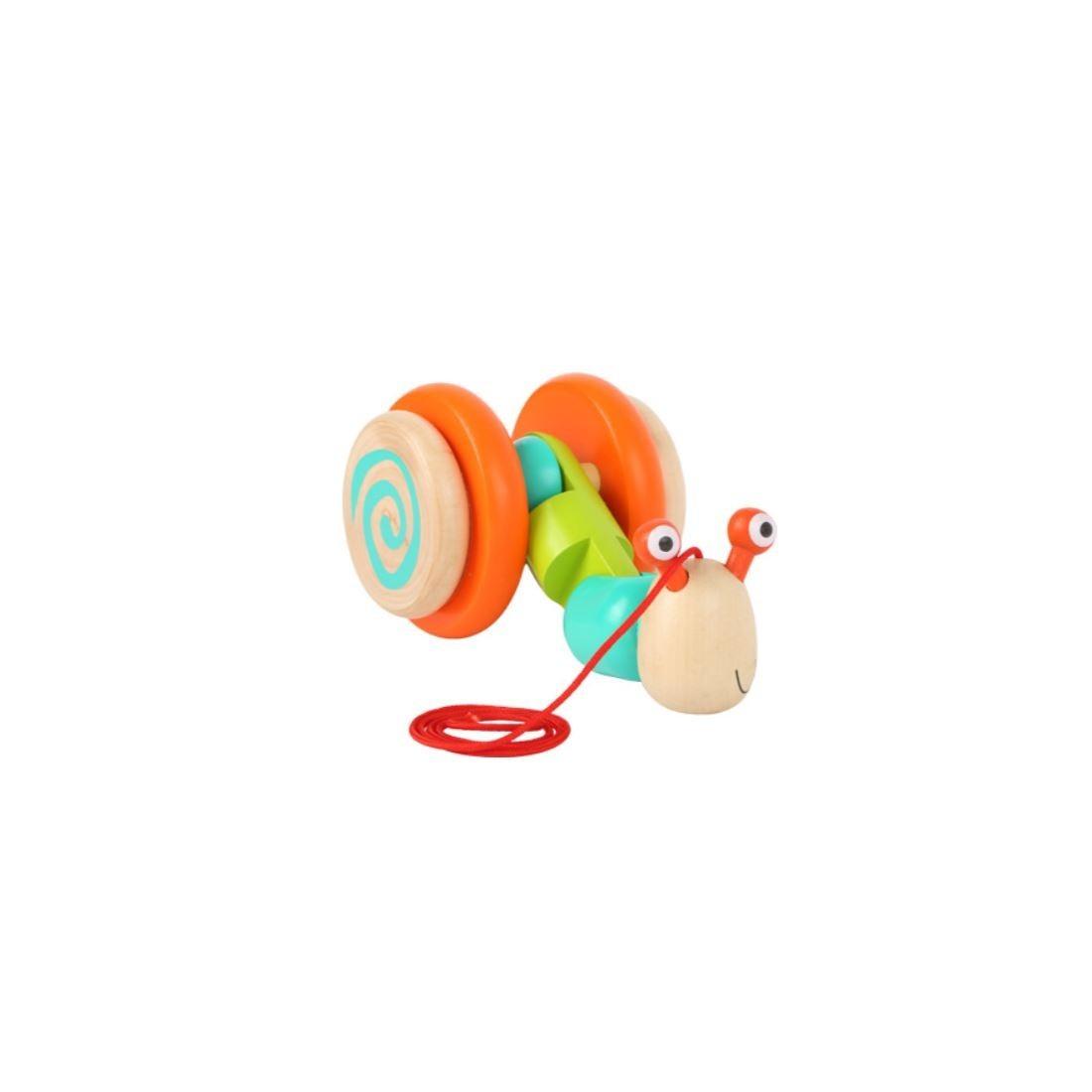jouet à tirer escargot