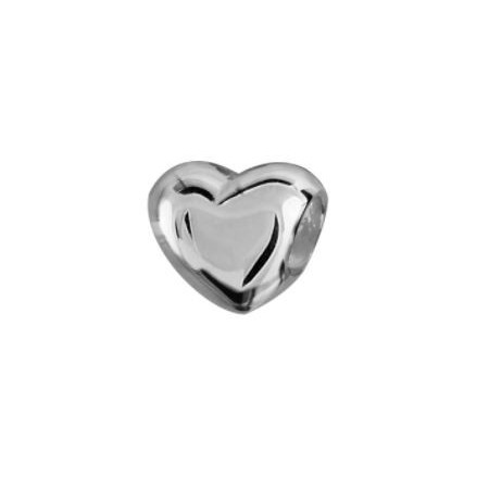Charms coeur argent Thabora
