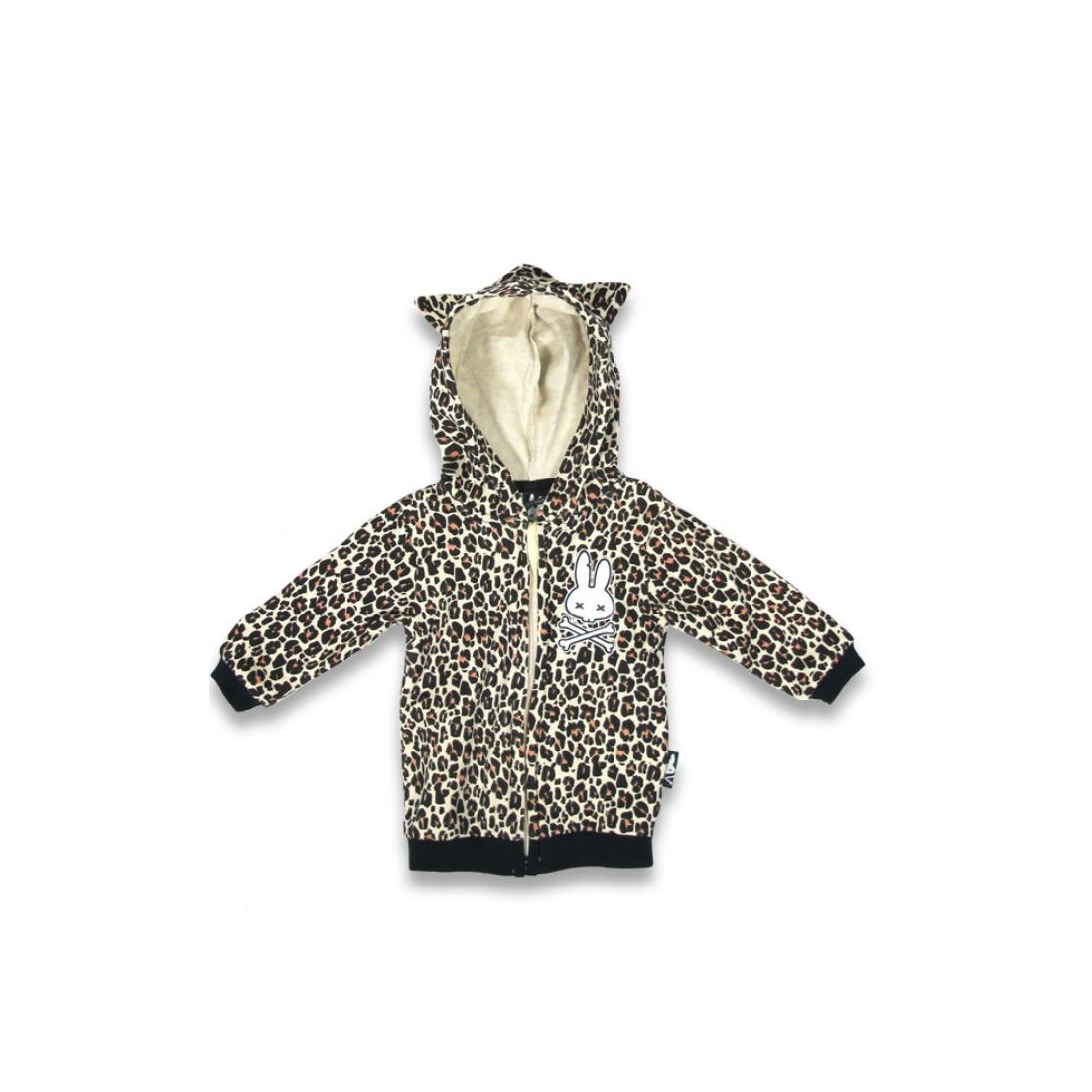 sweat bébé original LEOPARD