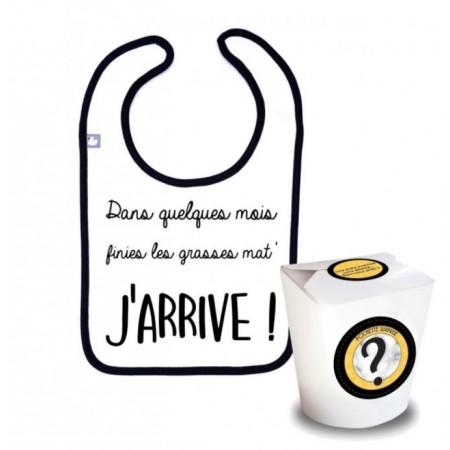 """Pochette surprise Annonce """"j'arrive !"""""""