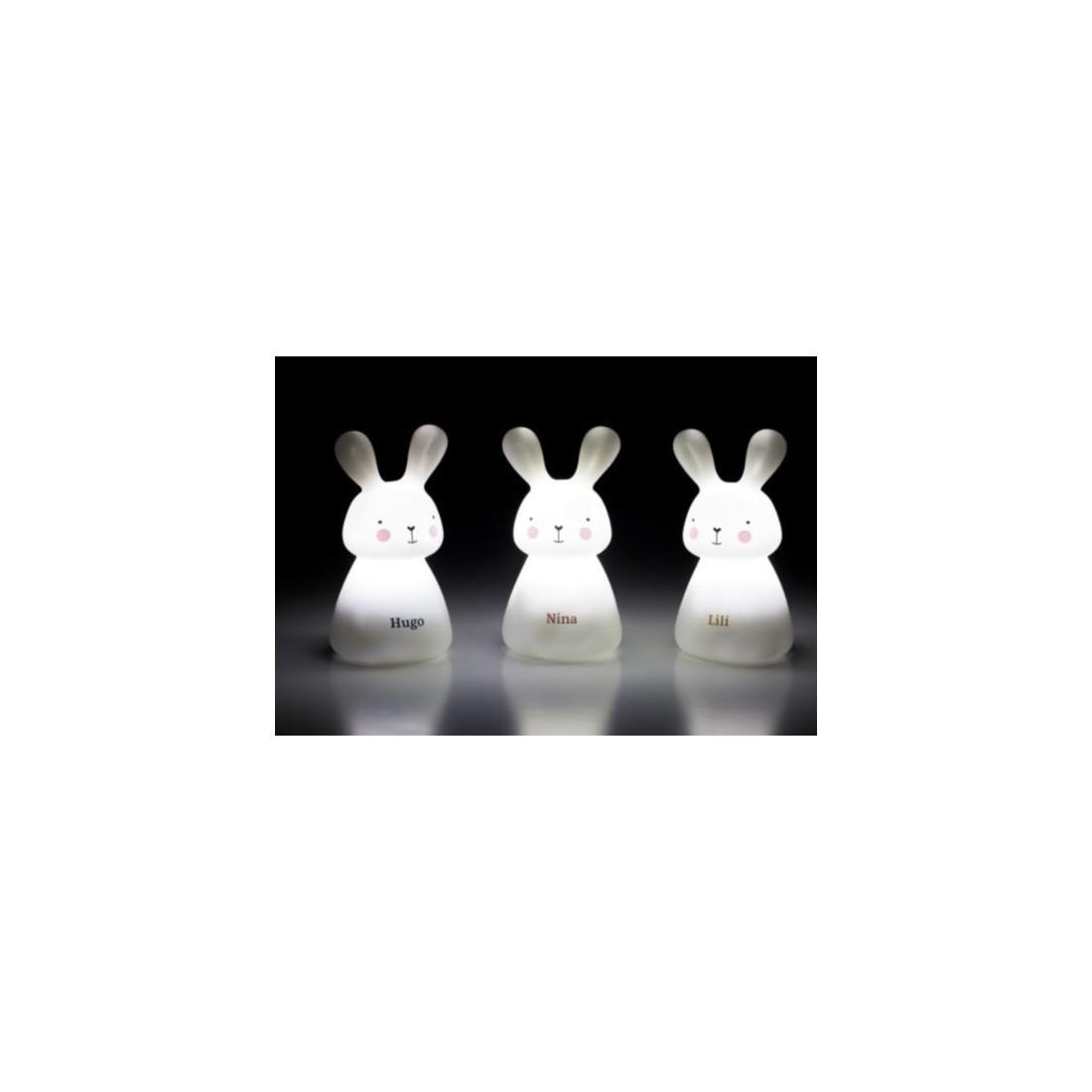 Veilleuses trio de lapins marque Olala