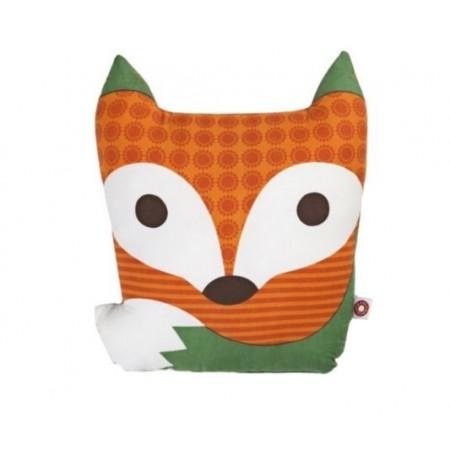 Rufus le coussin renard orange
