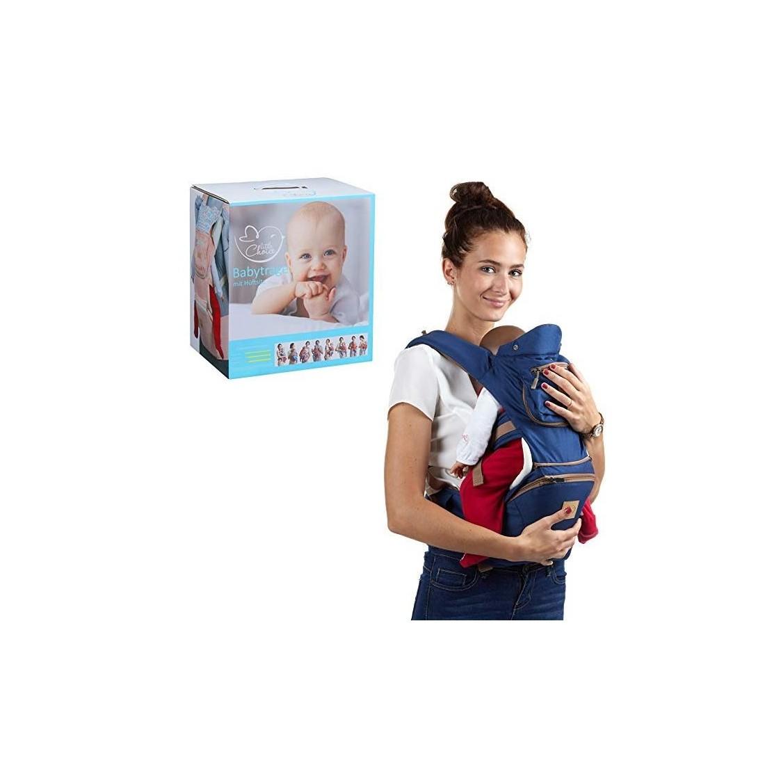 Porte bébé dorsal ou ventral Little Choice bleu