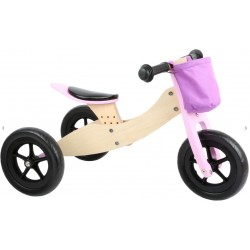 draisienne tricycle 2 en 1