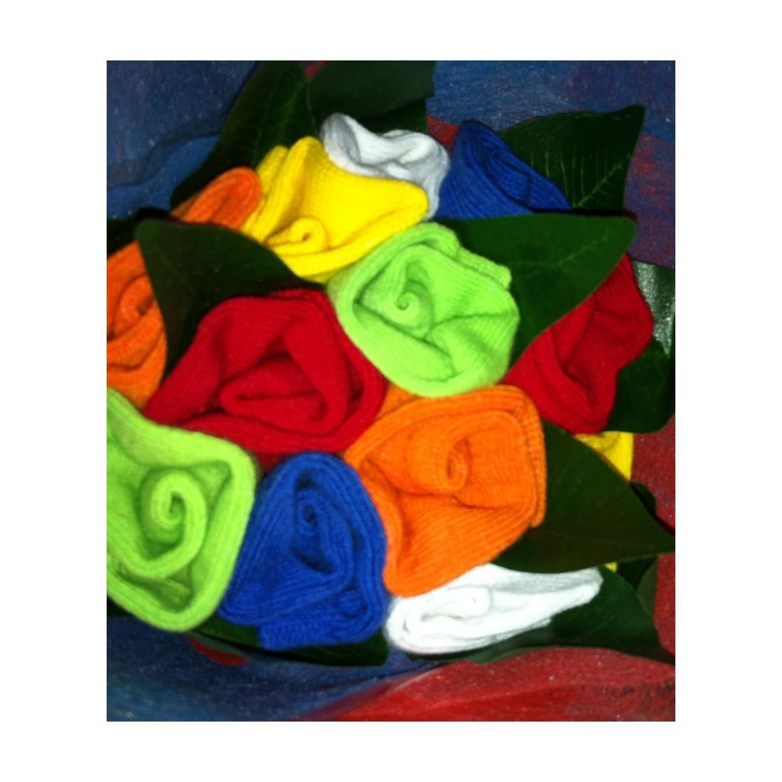 Cadeau de naissance original - bouquet de chaussettes