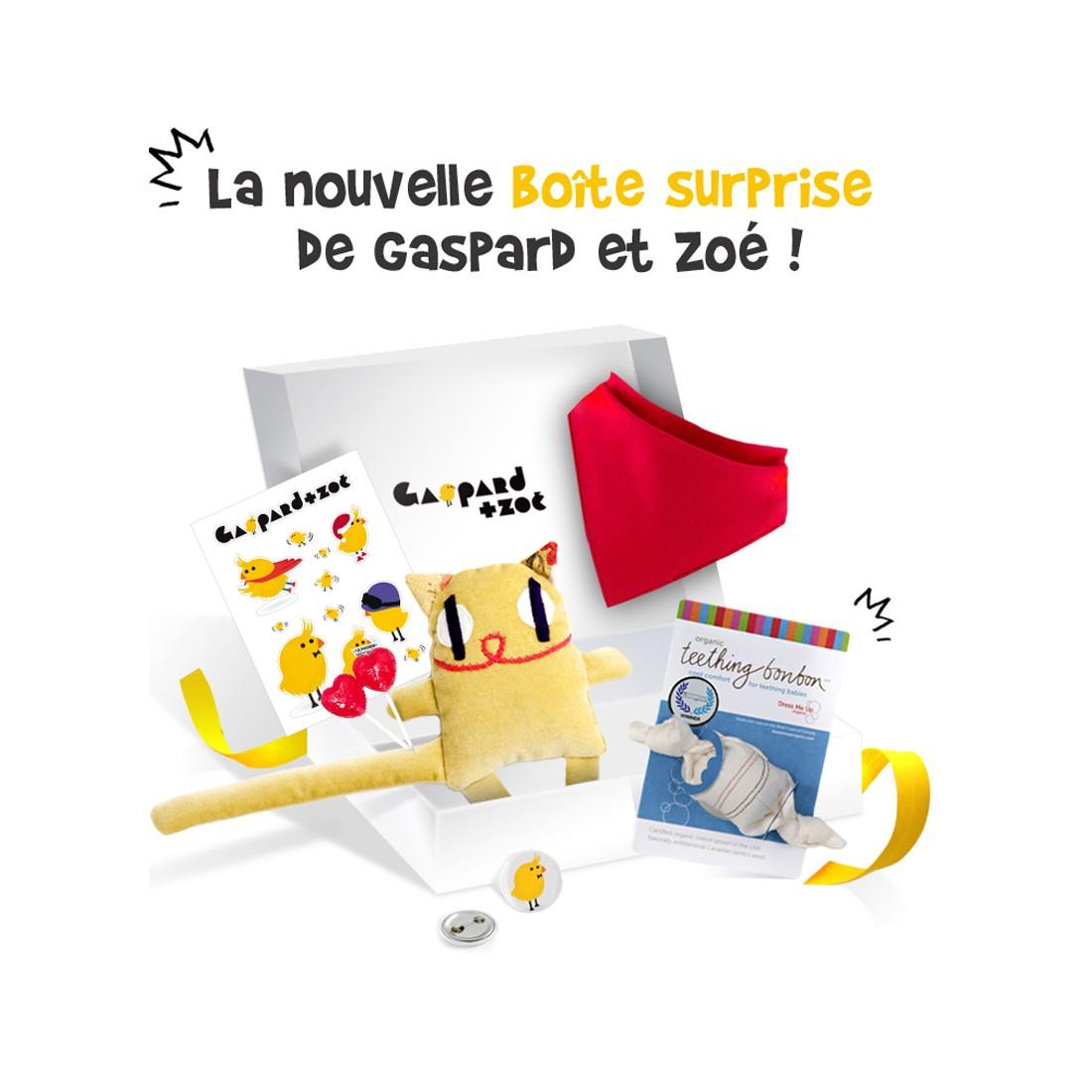 Boite surprise pour bébé - cadeaux bébé by Les Créateurs - Baby Box - 3 mois