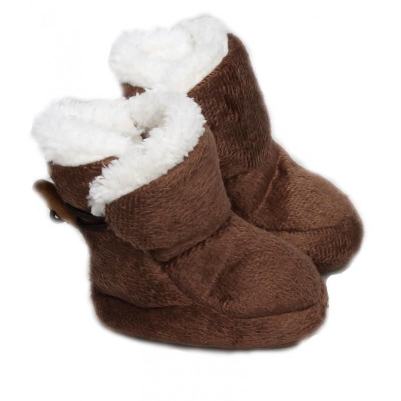 d9d0a82310376 chaussons bébé   chausson pour bébé en velours parfaits pour les ...