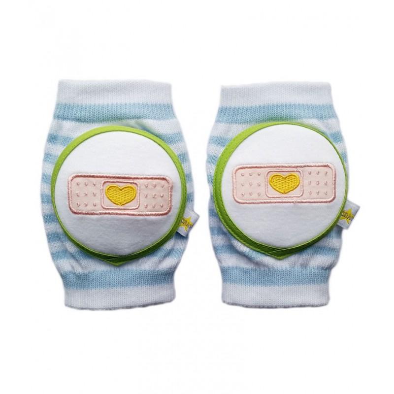 Protège-genoux bébé pansement cœur  6 mois-4 ans