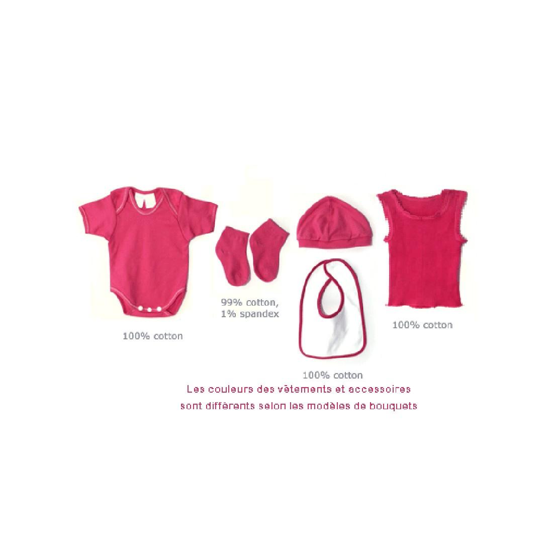 le cadeau de naissance ideal layette originale bebe fille
