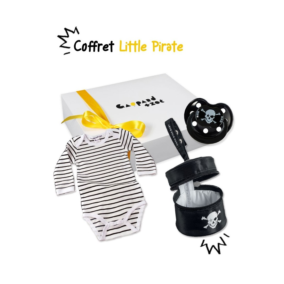 Coffret cadeau bébé original Little pirate