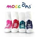 Chaussons-chaussettes fun bébé Mocc Ons