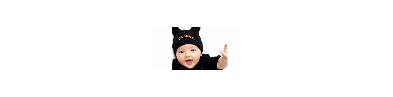 Bonnets de naissance originaux et bonnet bébé rigolo