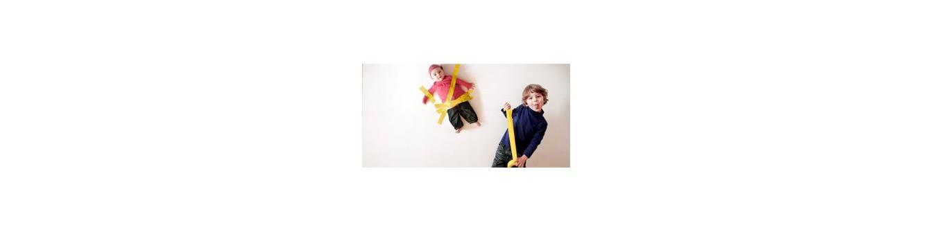 Jouets bébé en tissu