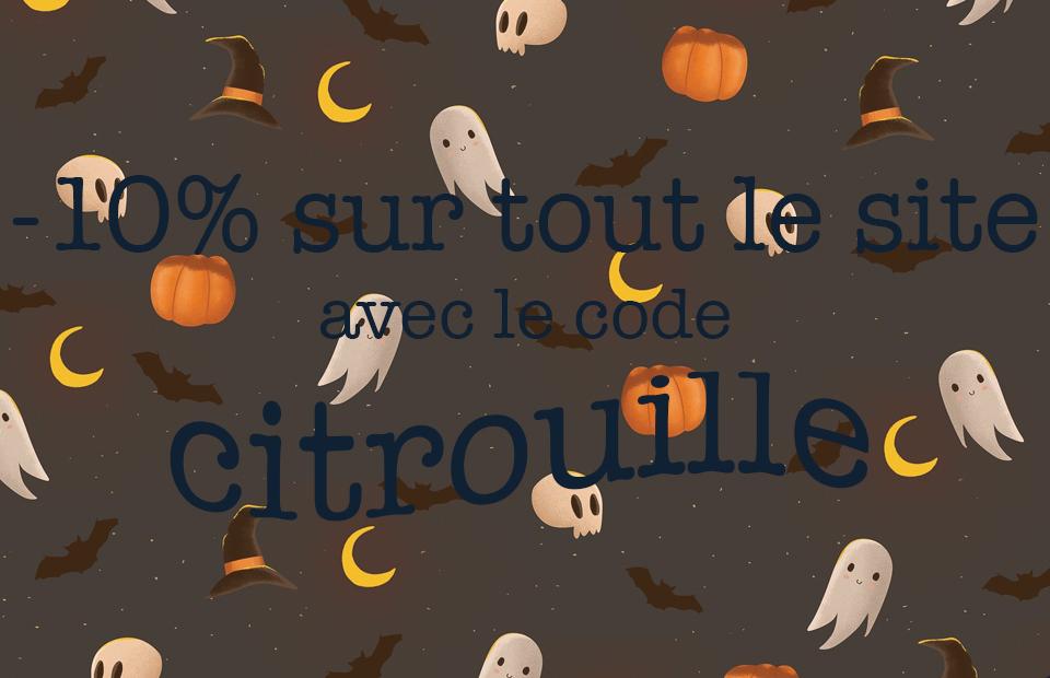 Offre Halloween
